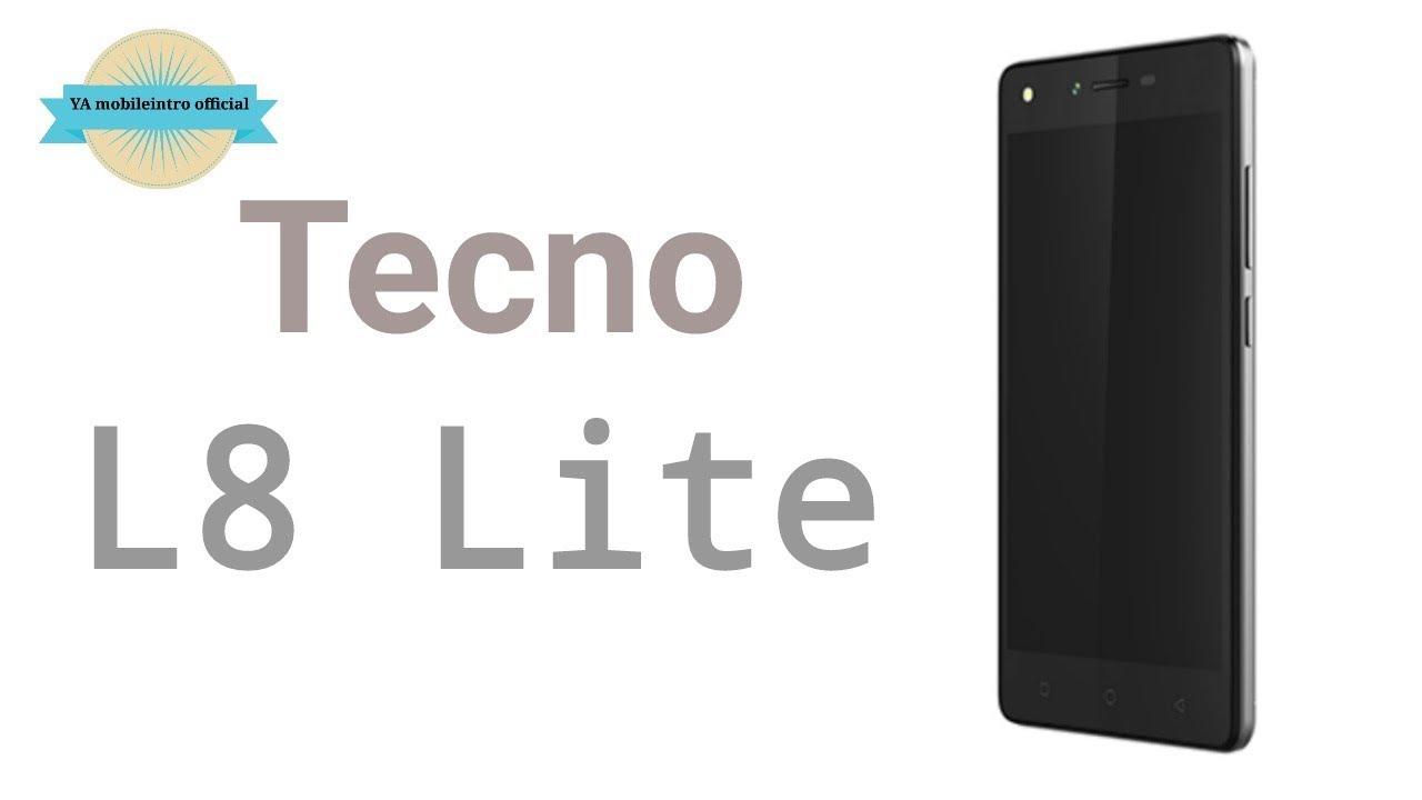 Tecno L8 Lite Specifications & Price In Nigeria