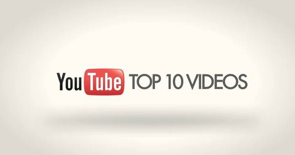 Top 10 Trending Videos in 2017 According to YouTube.