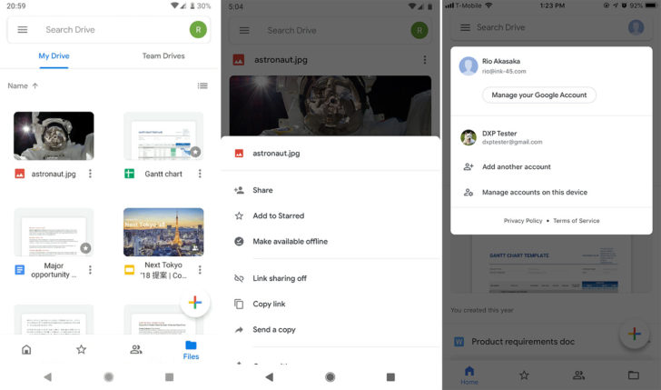 APK Download] Google Drive app Material Theme refresh starts rolling out March 18